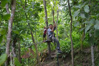 Sokawera Jemur Adventure Park Asiknya Wisata Sambil Bermain Kab Kebumen