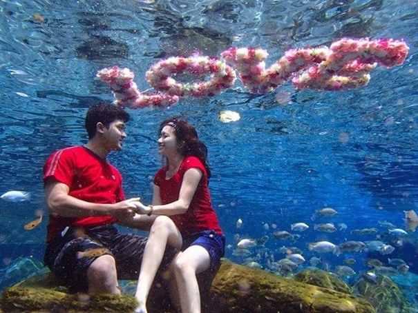 Umbul Ponggok Underwater Photography Wisata Fotografi Air Rute Perjalanan Unik