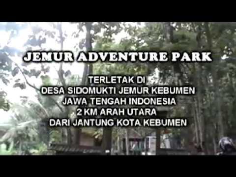 Wisata Outbond Jemur Adventure Park Kebumen Youtube Kab