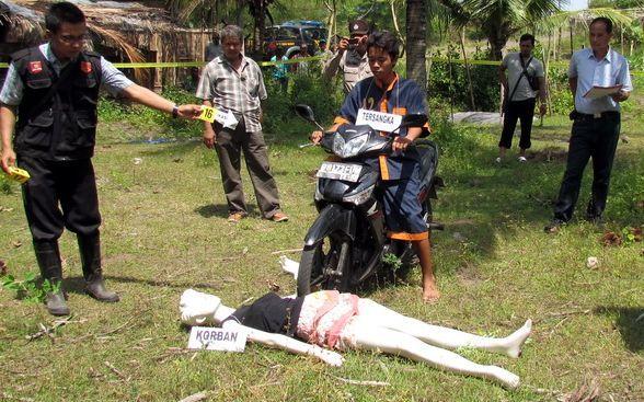 Diajak Intim Sebelum Dibunuh Berita Kebumen Mirit Independent News Rekonstruksi