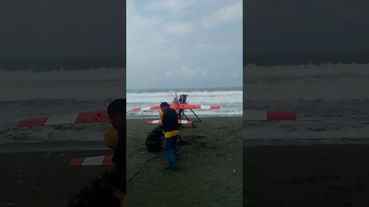 Lepas Landas Pesawat Target Latihan Tni Pantai Bocor Kab Kebumen