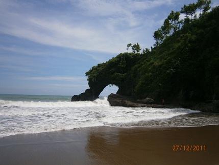 Panduan Wisata Kebumen Endah Murniwati Pantai Pasir Bocor Kab