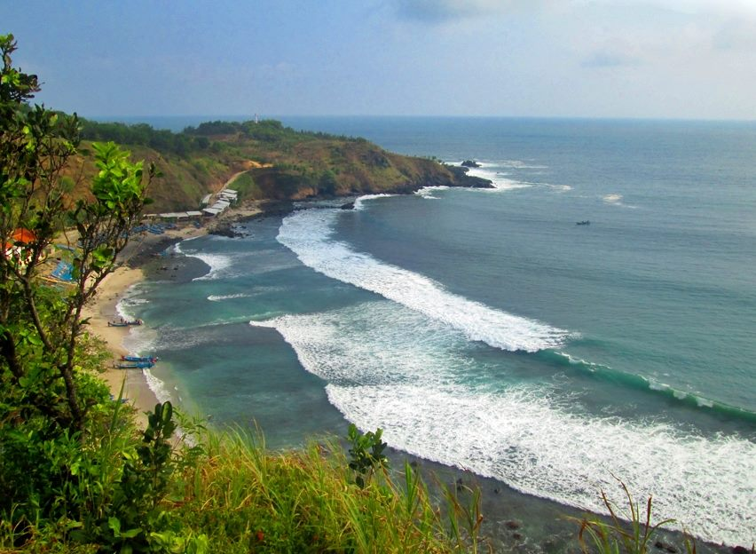 Pantai Menganti Kebumen Surga Ahmad Nurohman Blog Satunya Berada Desa