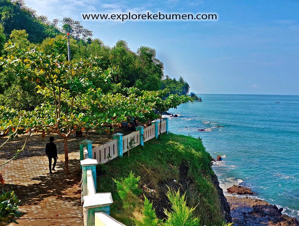 Pantai Pedalen Kebumen Menawan Explore Bocor Kab