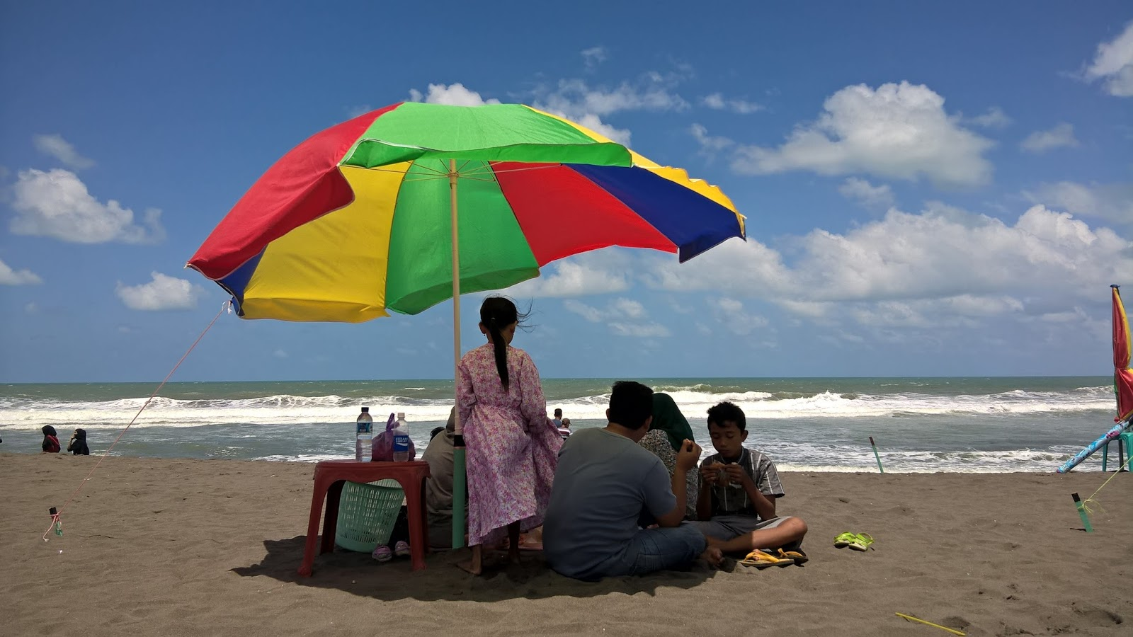 Pantai Setrojenar Kebumen Djangkaru Bumi Berkunjung Bocor Dikenakan Tiket Parkir