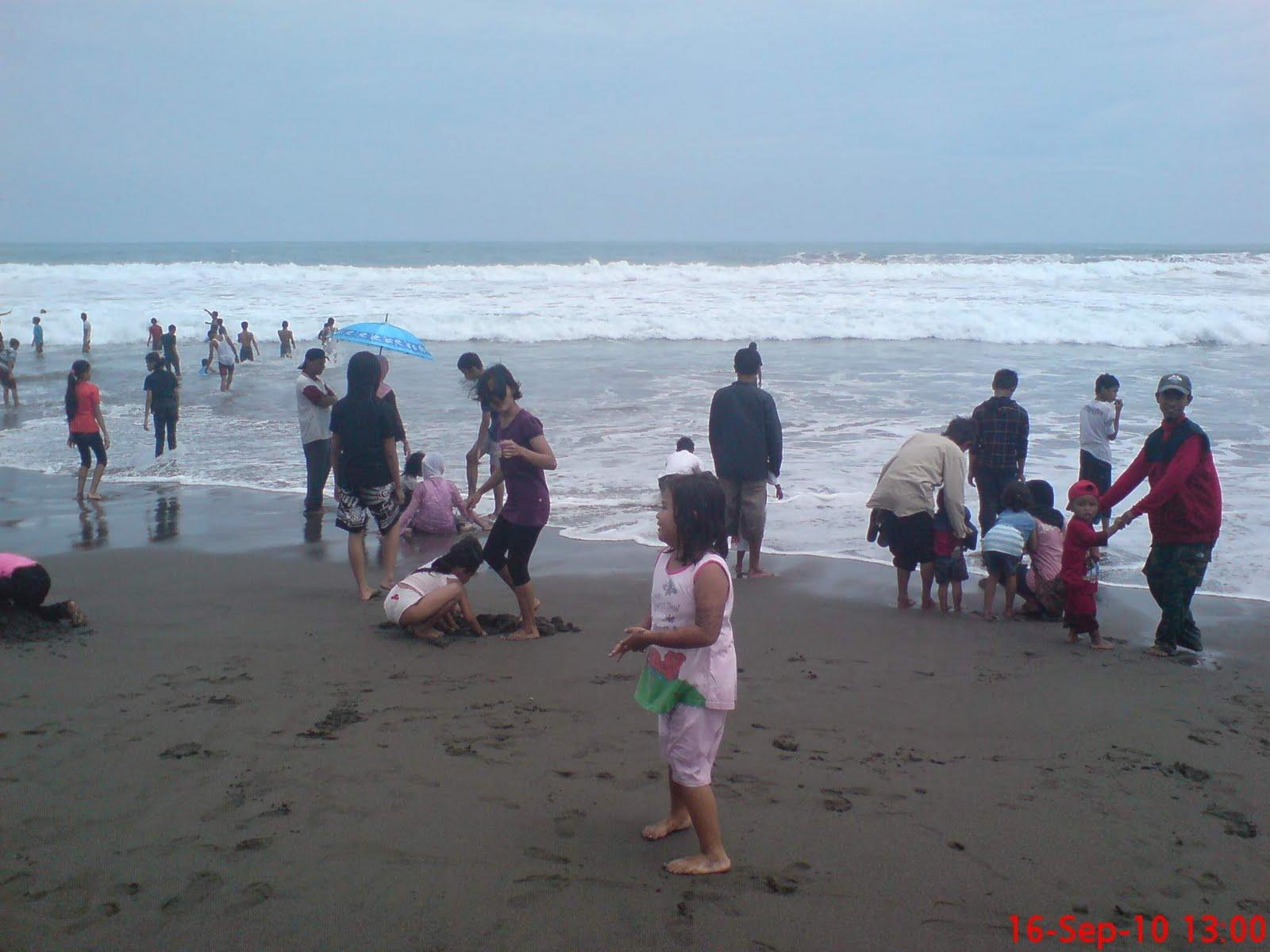 Wisata Murah Pantai Bocor Kebumen Rasimun Kab