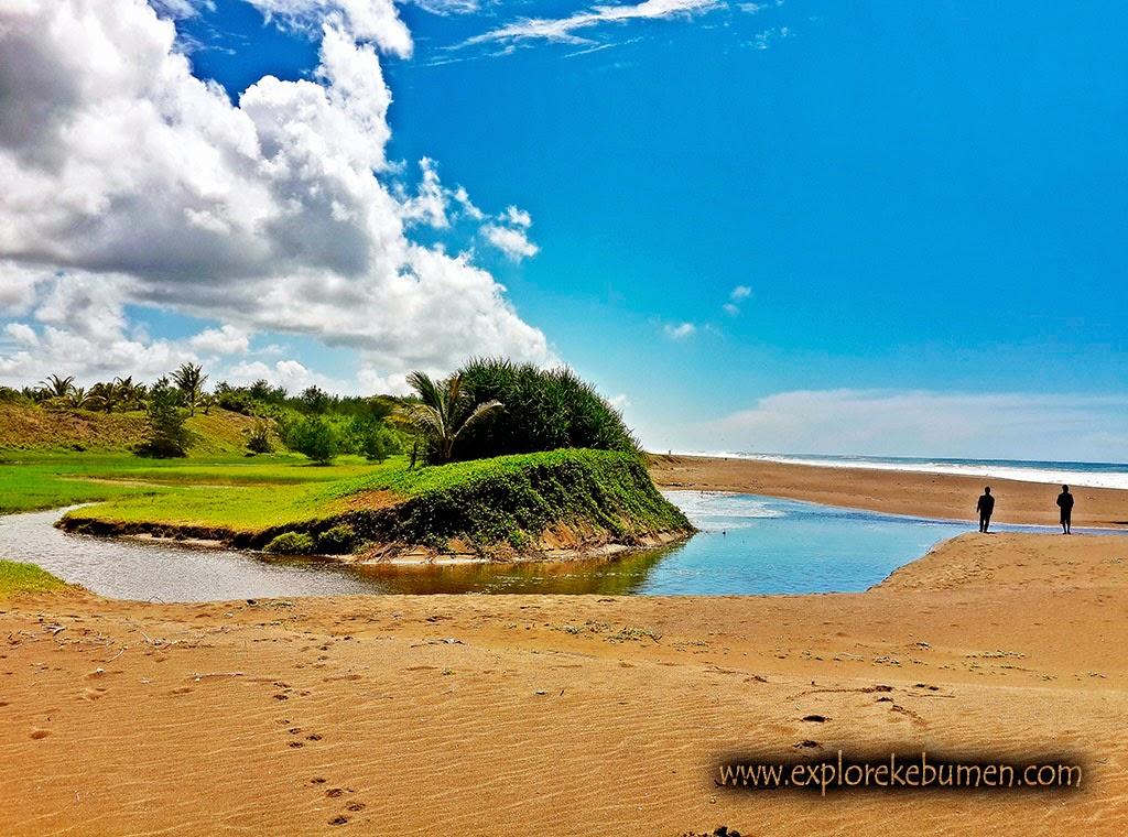 12 Pantai Indah Bagus Kebumen Ngehits Bopong Gebyuran Kab