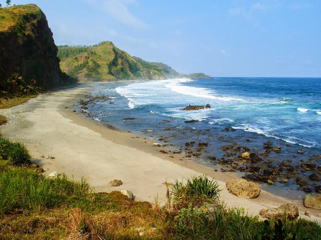 33 Wisata Kebumen Jawa Tengah Hits 2018 Bacaterusnet Pantai Pecaron