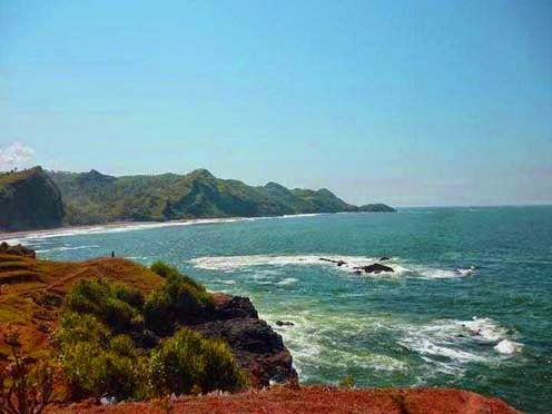 Objek Wisata Menari Keren Pantai Menganti Kebumen Gebyuran Kab
