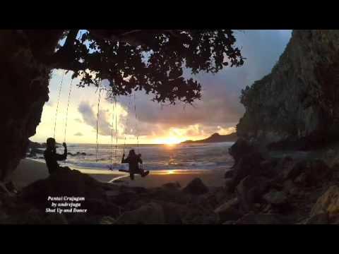 Pantai Gebyuran Grujugan Youtube Kab Kebumen