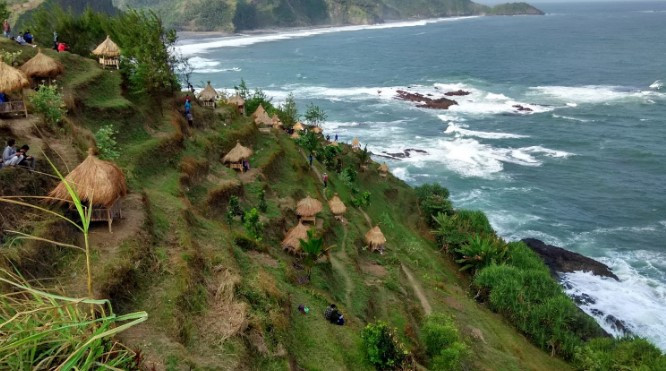 Wisata Kebumen Deretan Pantai Mengagumkan Tempat Menulis Tentang Kabupaten Memasukkan