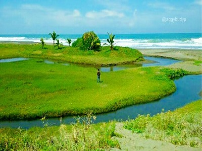 10 Gambar Pantai Bopong Kebumen Jawa Tengah Rute Lokasi Letak