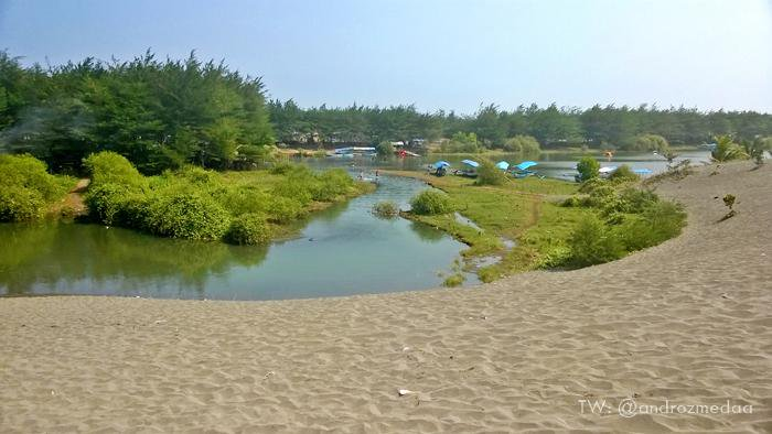 Lintas Kebumen Twitter Photo Laguna Pantai Lembupurwo Pesona Urut Sewu