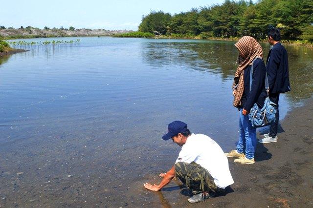 Menikmati Laguna Gumuk Pasir Pantai Lembupurwo Kebumen Kab