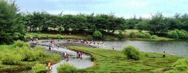 Peringati Hari Lingkungan Hidup Pantai Lembupurwo Dibersihkan Laguna Photo Krjogja