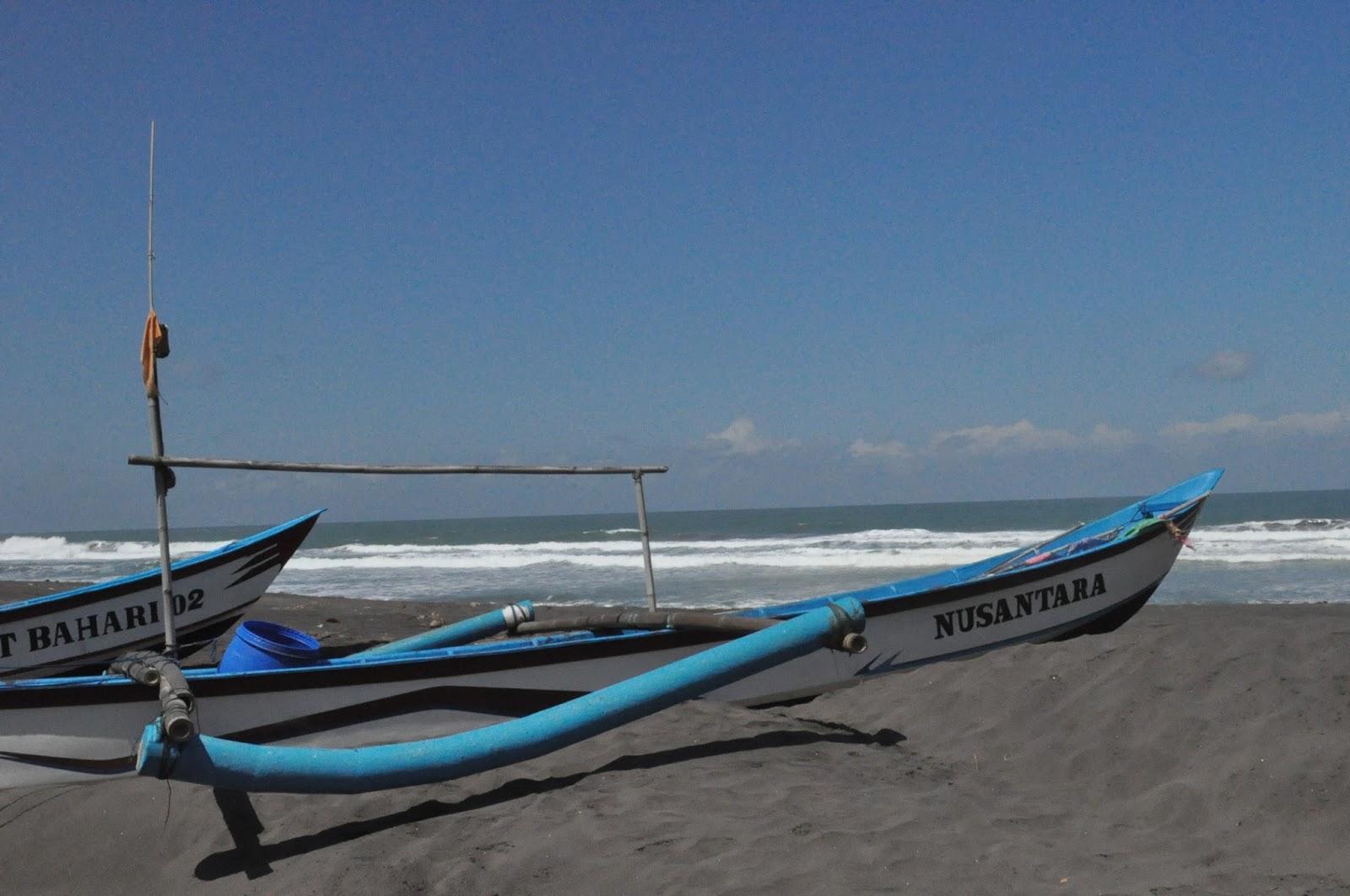 Pesona Laguna Cantik Pantai Lembupurwo Mirit Wowkebumen Terletak Desa Kec