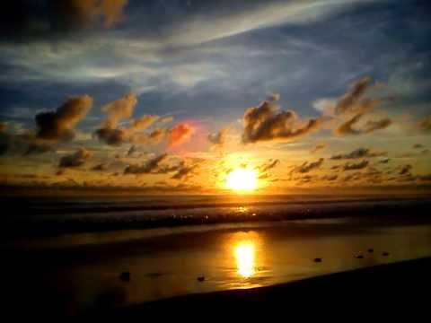 Sunset Pantai Laguna Lembupurwo Mirit Kebumen Youtube Kab