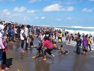 Pantai Petanahan Desa Karanggadung Kab Kebumen