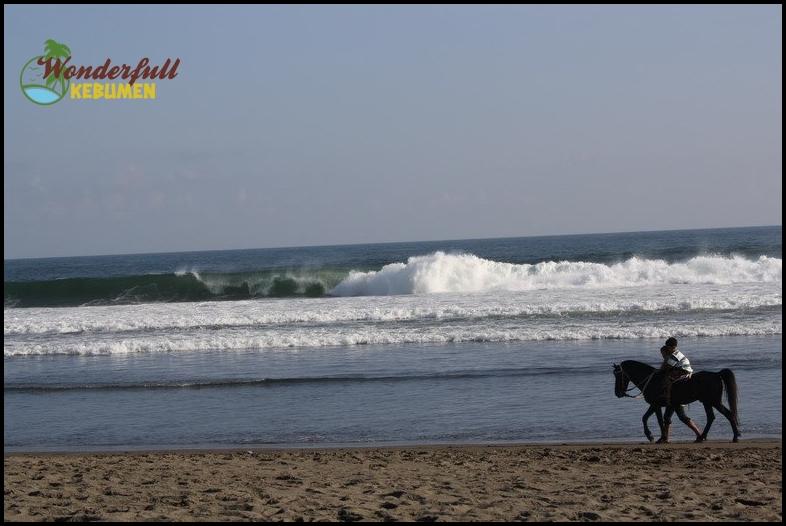 Pantai Petanahan Karanggadung Kebumen Pesona Keindahan Salah Satu Obyek Wisata
