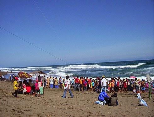 Pantai Petanahan Kebumen Terletak Kecamatan Kabupaten Jawa Tengah Posisi Sebelah