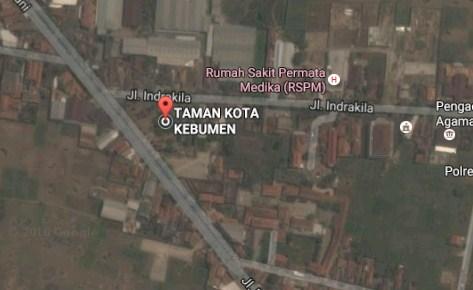 Destinasi Wisata Taman Kota Jendral Hm Sarbini Kebumen Jawa Demikianlah