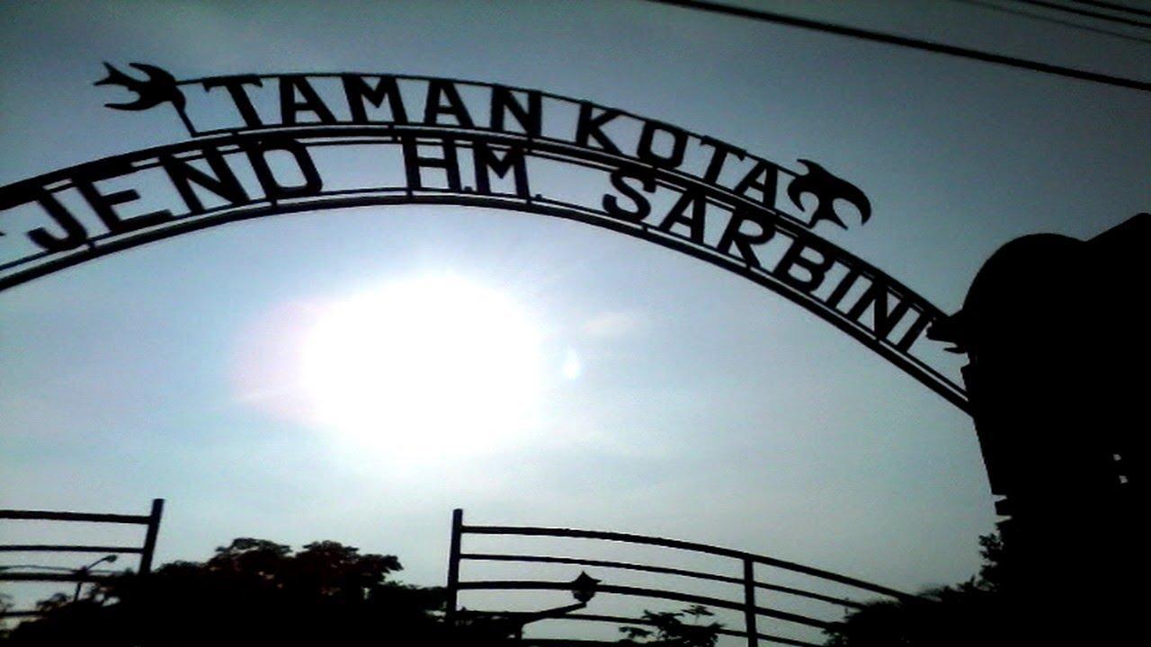 Taman Kota Jend Hm Sarbini Kebumen Youtube Jenderal Kab