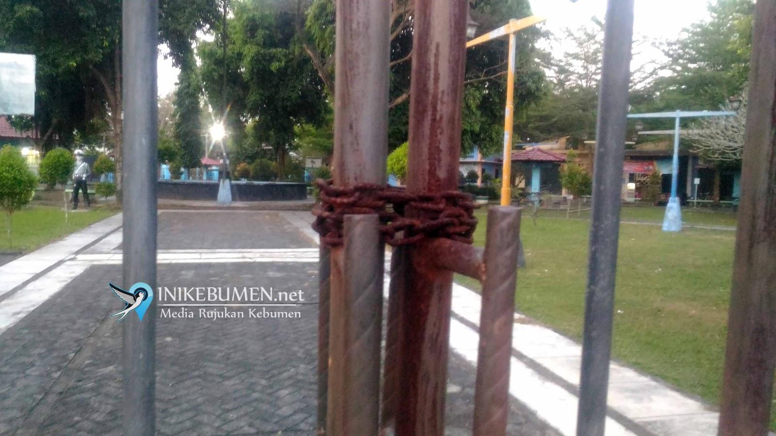 Taman Kota Jendral Sarbini Kebumen Kurang Terawat Jenderal Hm Kab