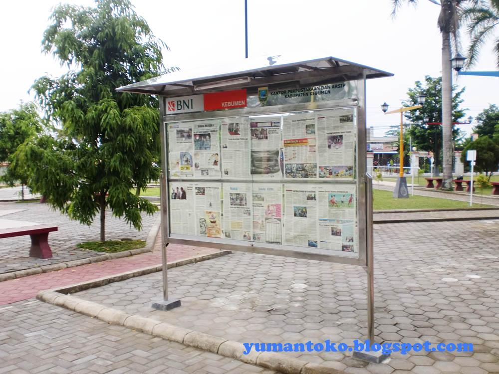 Taman Kota Kebumen Hm Sarbini Koran Dinding Jenderal Kab