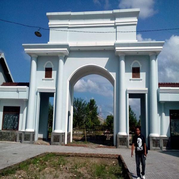 Taman Kota Kebumen Ikon Wisata Lihat Id Foto Jenderal Hm