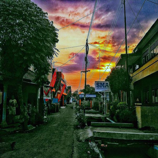Taman Kota Kebumen Ikon Wisata Lihat Id Gambar Jenderal Hm