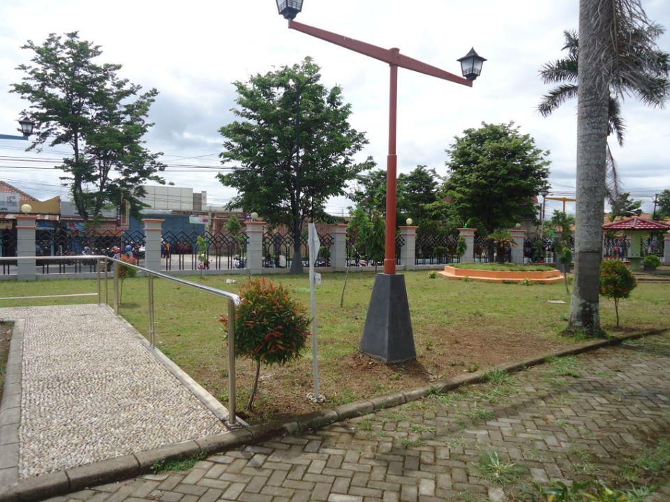 Taman Kota Kebumen Matta Annisa Salah Satu Sudut Jenderal Hm