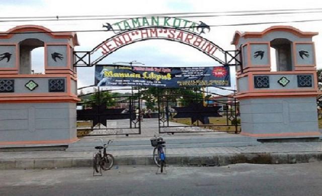 Taman Kota Kebumen Wisata Terlupakan Jenderal Hm Sarbini Kab