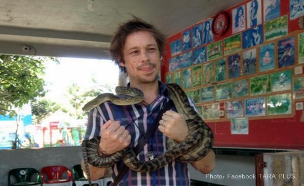 Fotografer Australia Ikut Promosikan Taman Reptil Lintas Kebumen Asal Sydney