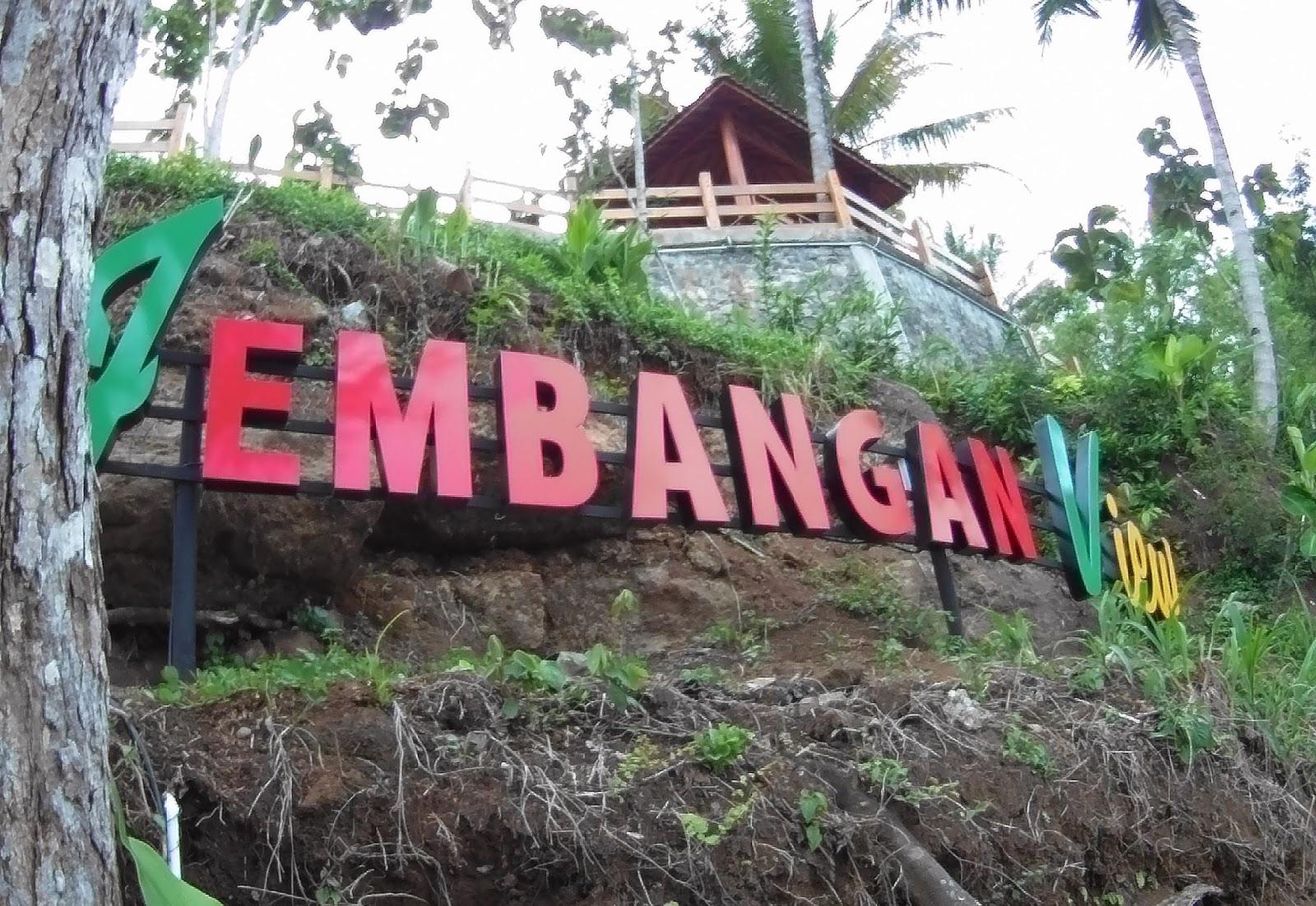 Jalan Jembangan Wisata Alam Kebumen Dikit View Kab