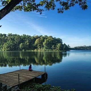 Jembangan Wisata Alam Pemandangan Danau Kab Kebumen