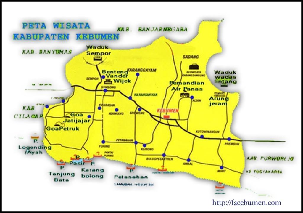 Peta Wisata Kebumen Informasi Sejarah Budaya Alam Jembangan Kab