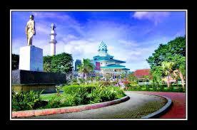 Alun Kota Kediri Wisata Kab