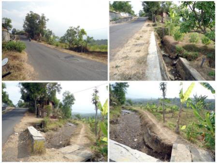 Dijual 758m2 Puhsarang Kabupaten Kediri Tanah Alun Kab