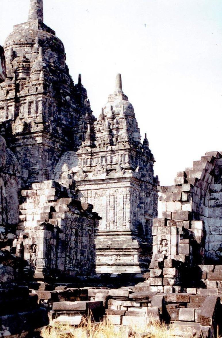 Candi Sewu Java 7 1996 Temples Indonesia Surawana Kab Kediri