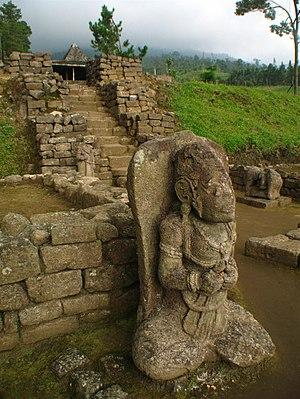 Candi Surawana Wikivisually Ceto Temple Statue Main Courtyard Kab Kediri