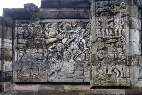 Candi Surowono Hindu Peninggalan Jaman Kerajaan Majapahit Foto Thearoengbinangproject Surawana