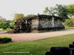 Candi Tegawangi Jawa Timur Kepustakaan Surawana Kab Kediri
