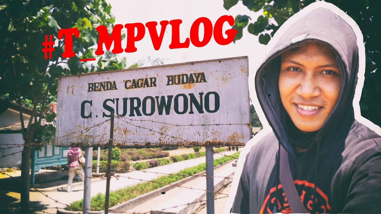 Woooww Wisata Kediri Bersejarah Mpvlog Candi Surawana Kab