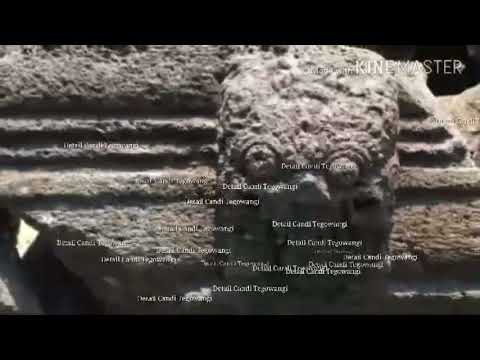 Candi Tegowangi Kediri Jawa Timur Youtube Kab