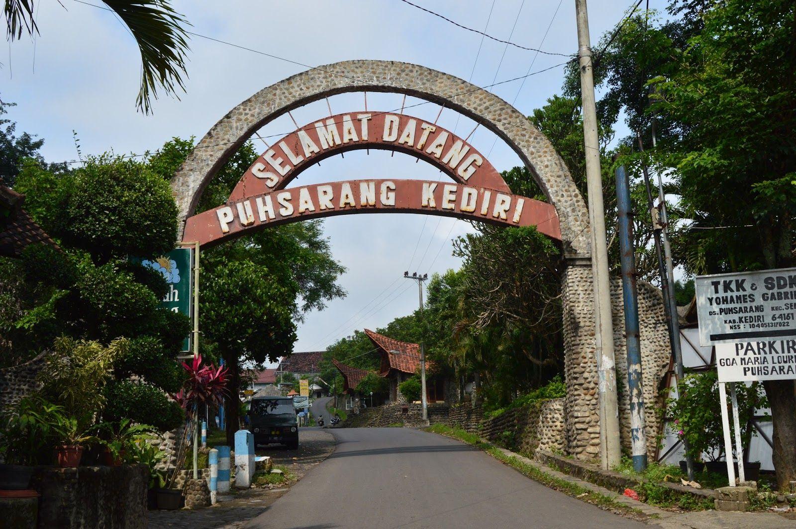Gereja Pohsarang Gua Maria Lourdes Kediri Jawa Timur Steemit Lokasi