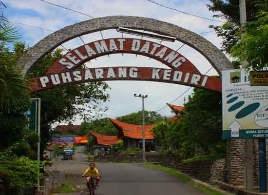 Gereja Tua Puhsarang Insumo Palace Hotel Resort Kediri Jawa Puhsaranggerbang