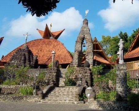 Pesona Keindahan Wisata Gua Maria Pohsarang Kediri Daftar Tempat Bunda