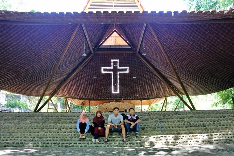 Puhsarang Objek Wisata Rohani Terdapat Kediri Gereja Kab