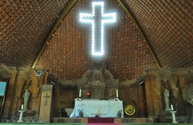 Wisata Religius Puhsarang Jurnalis Smada Kediri Psr5 Gereja Kab