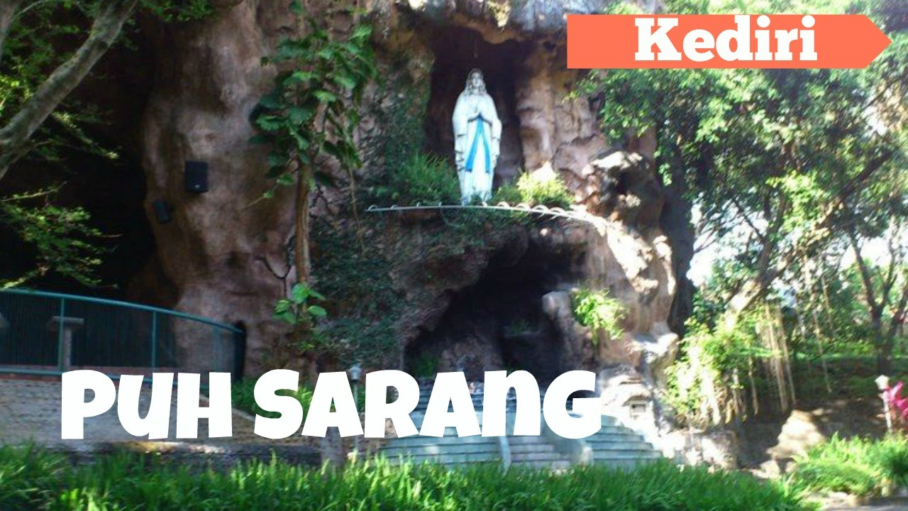 Grace Puh Sarang Catholic Church Kediri East Java Youtube Gua